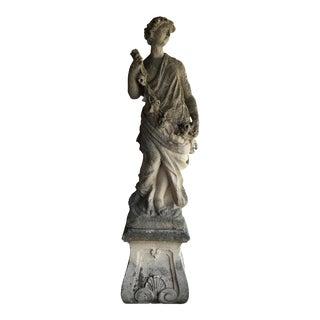 Antique Italian Stone Statue