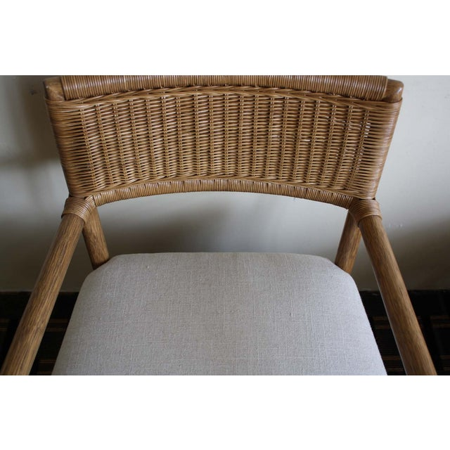 McGuire Dawson Chair in Pecan Finish - Image 4 of 6