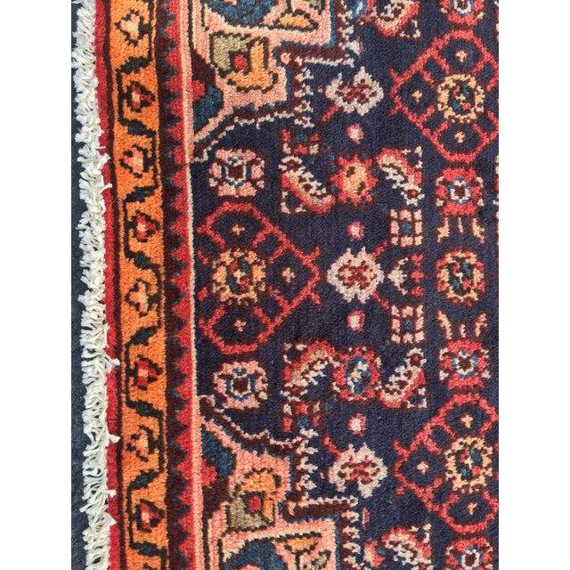 "Vintage Persian Malayer Runner - 2'4"" x 14'4"" - Image 7 of 10"