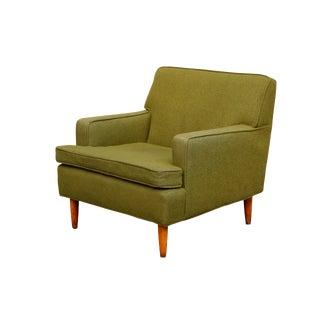 Mid-Century Modern Green Armchair