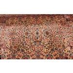 """Image of Antique Karastan Kirman Wool Rug - 5′8″ x 9′7"""""""