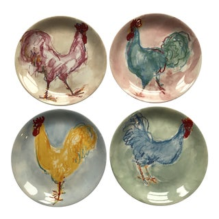 Tiffany & Co. Roosters Plates - Set of 4