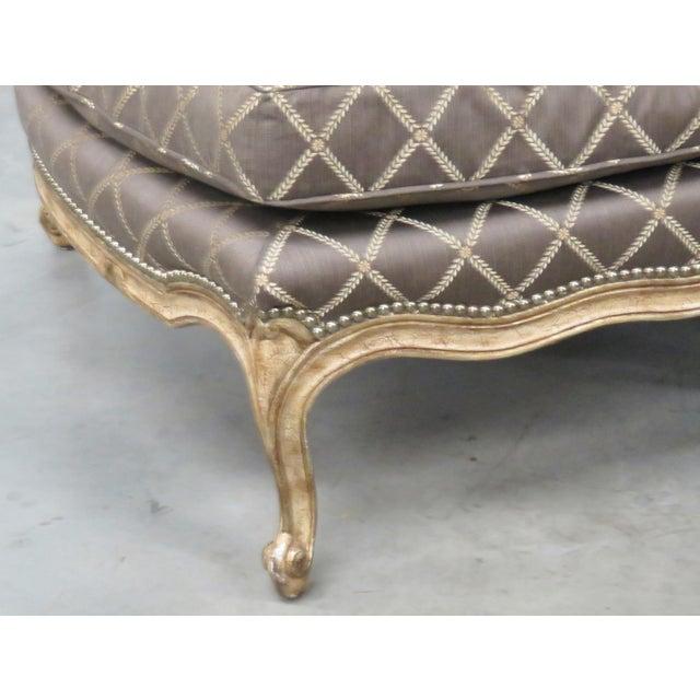 louis xvi style 2 piece chaise chairish. Black Bedroom Furniture Sets. Home Design Ideas