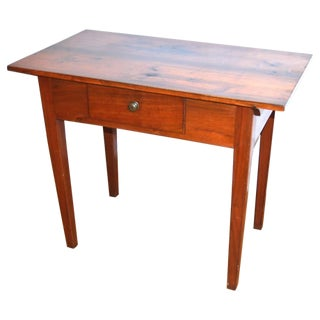 American Antique Hepplewhite Tavern Table