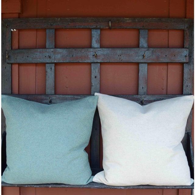 Italian Cream Sustainable Wool Pillow - Image 2 of 6