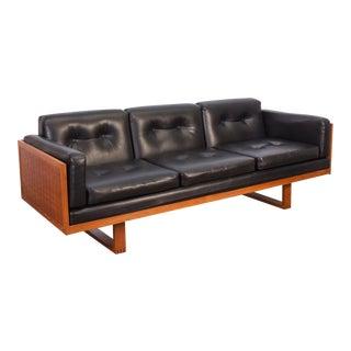 Paul Cadovius Woven Black Sofa
