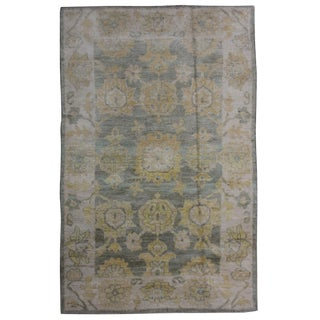"Aara Rugs Inc. Hand Knotted Oushak Rug - 6'2"" x 4'2"""