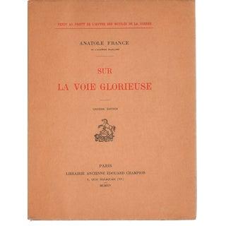 Antique Sur La Voie Glorieuse by Anatole France
