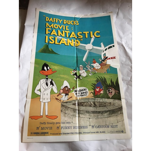 Daffy Duck's Fantastic Island 1983 Movie Poster - Image 2 of 9
