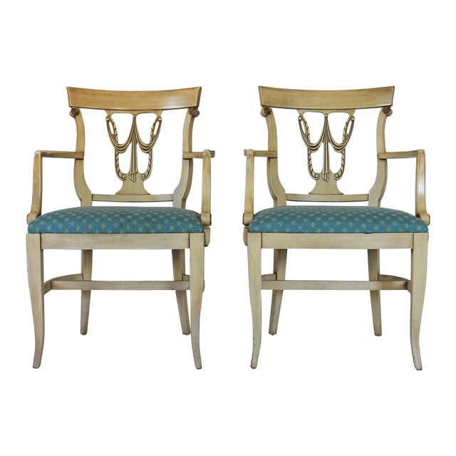 Neoclassical Dining Chairs S/4 - Image 3 of 10