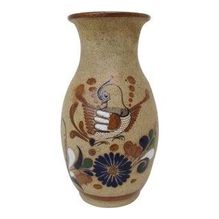 Mexican Tonalá Ceramic Vase