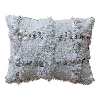 Moroccan Wedding Blanket Handira Pillow