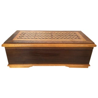 Large Wood Jewel Box