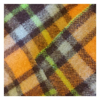 Vintage Plaid Camp Blanket