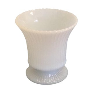 Small Vintage Milk Glass Vase