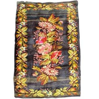 Rustic Floral Ukrainian Rug