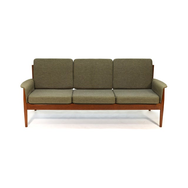 Grete Jalk Sculpted Teak Sofa - Image 5 of 6