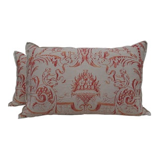 Fortuny Manzianno Patterned Pillows - A Pair