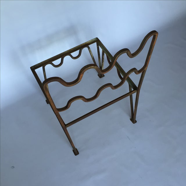 1940s Sculptural Modernist Iron Patio Chairs - 4 - Image 5 of 11