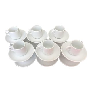 Vintage Richard Ginori Espresso Cups & Saucers - Set of 12