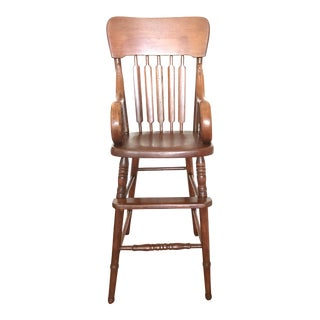 Antique Bentwood Child's High Chair
