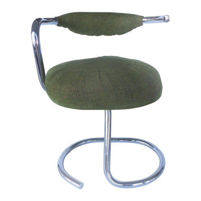 Arrben Tubular Chrome Dining Chairs - Set of 6 - Image 1 of 8