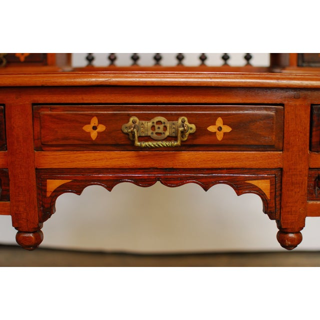 Dutch Colonial Dressing Table Vanity - Image 3 of 7