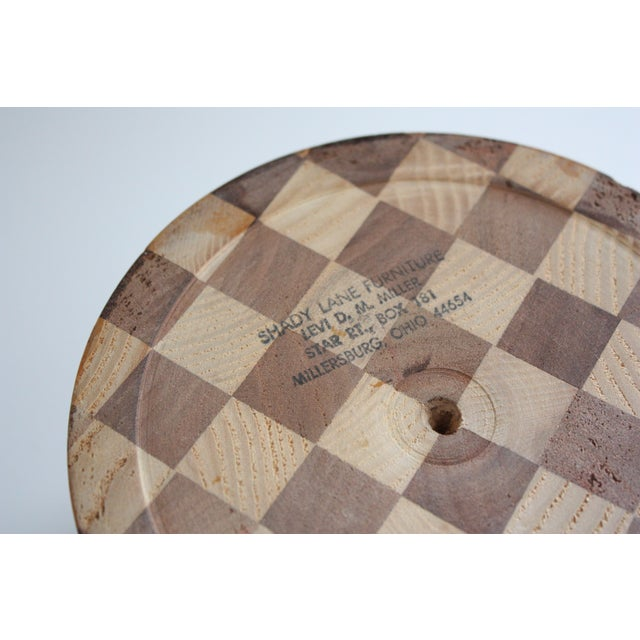 Lidded Wooden Pedestal Bowl - Image 8 of 10