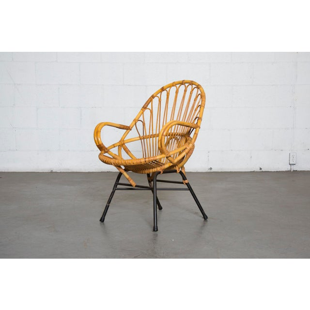 Rohe Noordwolde Bamboo Hoop Chair With Arms - Image 10 of 10