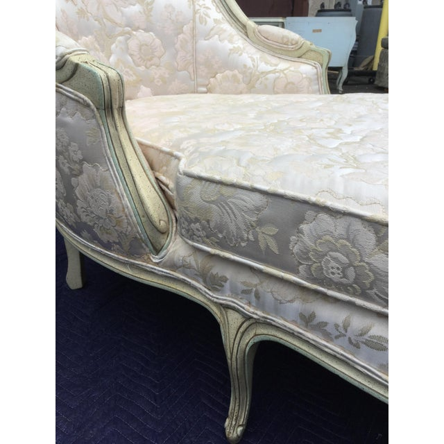 French Painted Chaise - Image 4 of 6