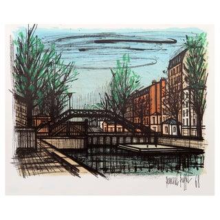 Bernard Buffet Canal St. Martin Lithograph