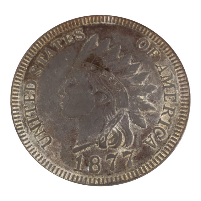 Native American Indian Head Coin - Image 1 of 3