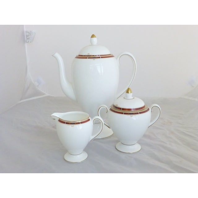 "Wedgwood ""Colorado Gold"" Coffee Set - Image 2 of 4"