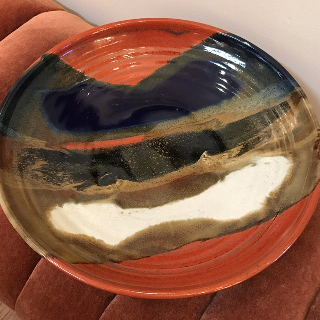 Image of Earth Tone Studio Pottery Plate
