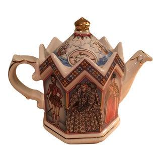 Vintage Saddler English Teapot