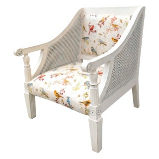 Grand Cottage Double Cane Arm Chair