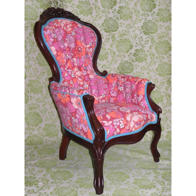 Tufted Pink Tulula Accent Chair Chairish