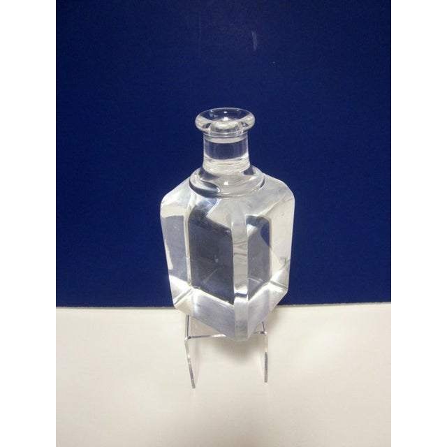 Ritts Lucite Hollywood Regency Candle Holder - Image 2 of 7