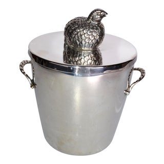 Silverplate De Uberti Ice Bucket