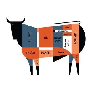 Raymond Biesinger 2011 Beef Cut Poster