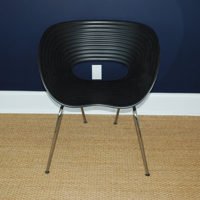 Iconic Black Tom Vac Chairs - Pair - Image 4 of 6