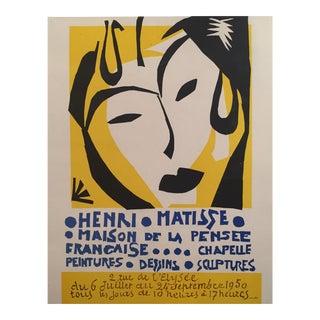 Maison De La Pensée Française Matisse Exhibition Poster