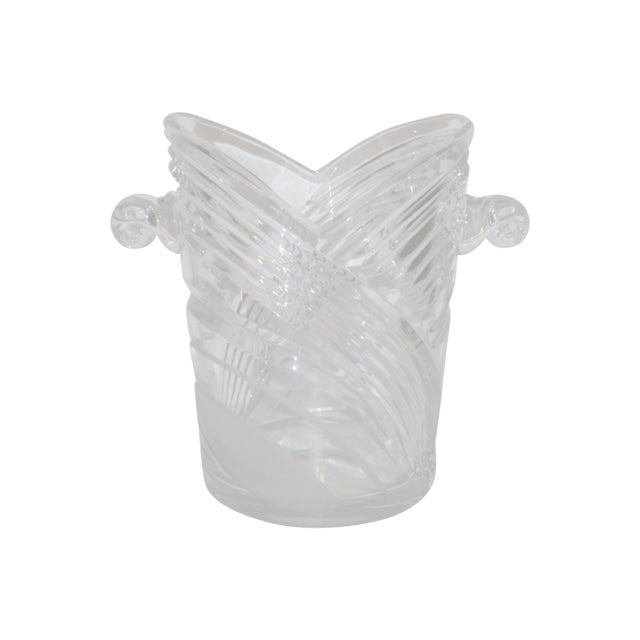 Vintage Crystal Champagne Ice Bucket - Image 1 of 7