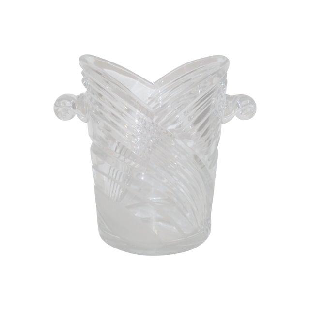 Image of Vintage Crystal Champagne Ice Bucket