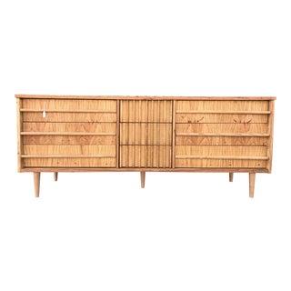 Mid-Century Bleached Wood Dresser