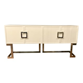 Worlds Away Braxton Media Console