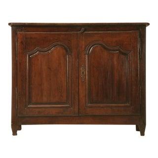 Incredible Original Unrestored 18th C. French Louis XV Buffet, Cupboard or ??