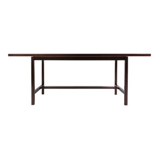 Jens Risom Solid Walnut Work Table