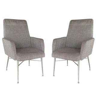 Pair Italian Library Chairs