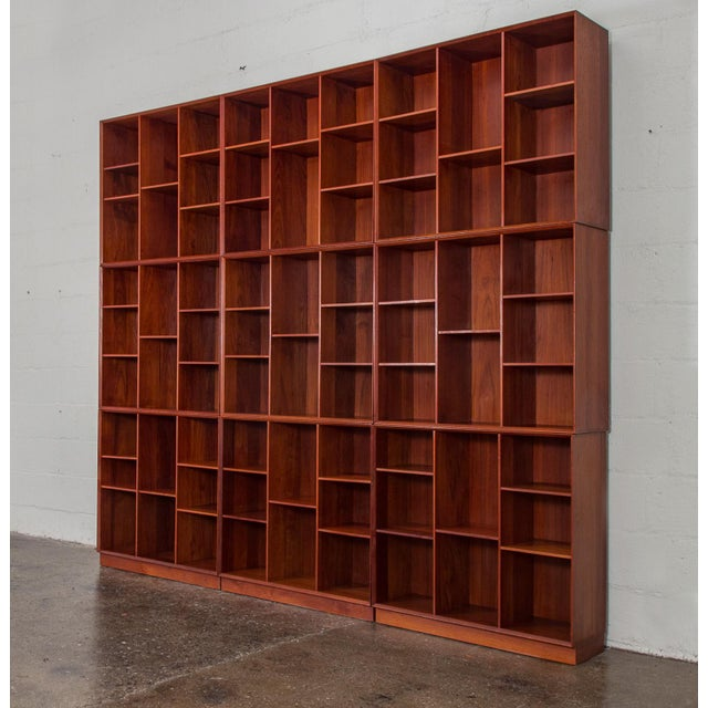 Modular Wall of Stacking Bookcases - Image 3 of 11